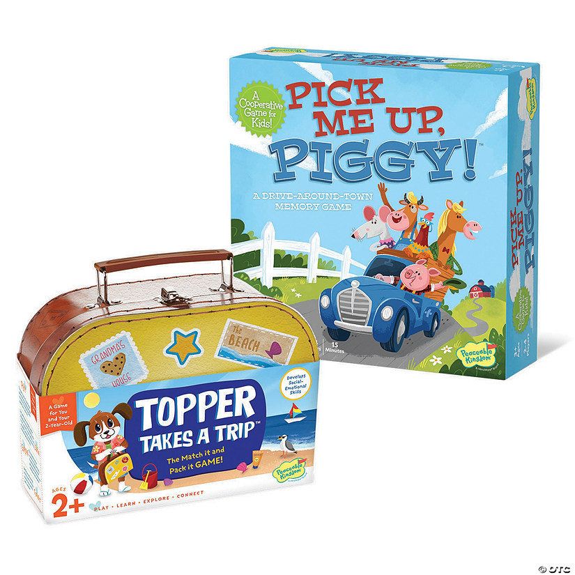 Piggy and Topper Set of 2