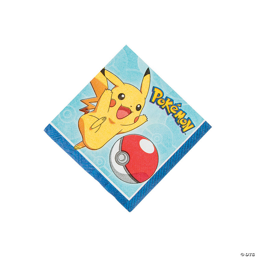 Pikachu & Friends Beverage Napkins