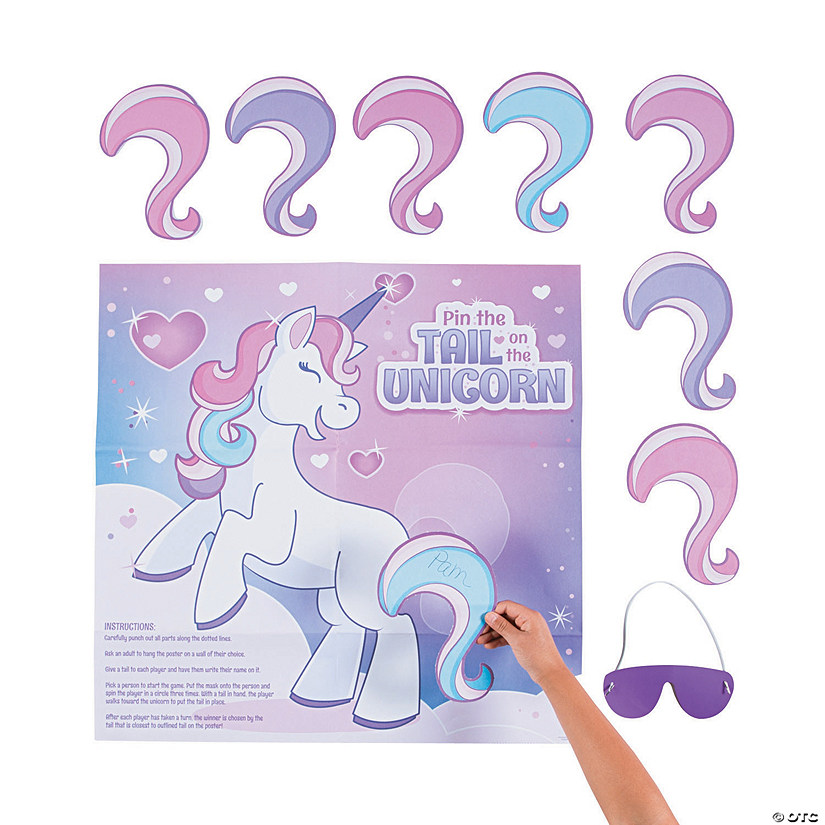 Pin the Tail on the Unicorn Valentine Game Audio Thumbnail