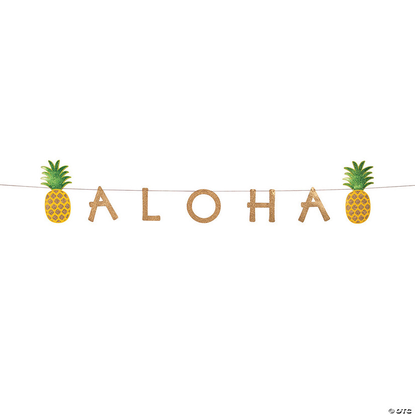 Pineapple Aloha Jointed Banner Audio Thumbnail