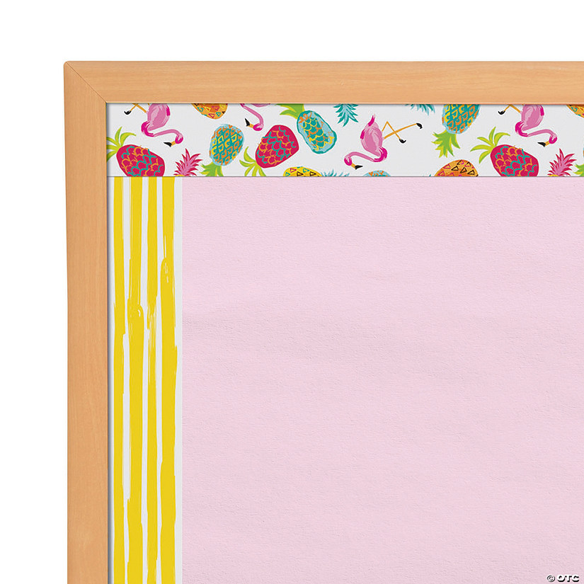 Pineapple Bulletin Board Borders
