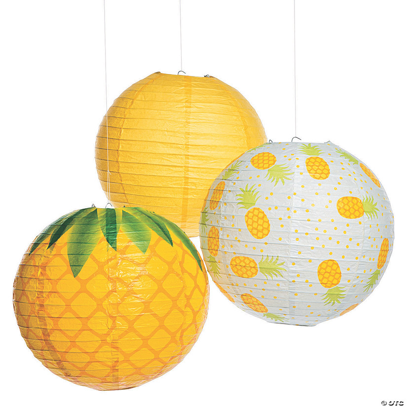 Pineapple Hanging Paper Lanterns Audio Thumbnail