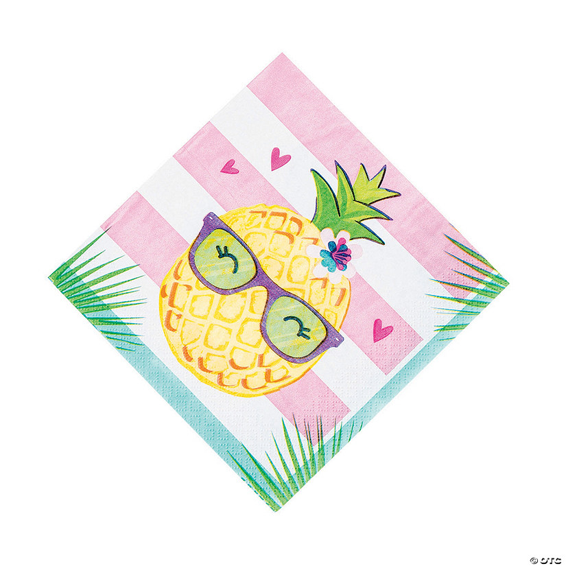 Pineapple 'N' Friends Luncheon Napkins Image Thumbnail