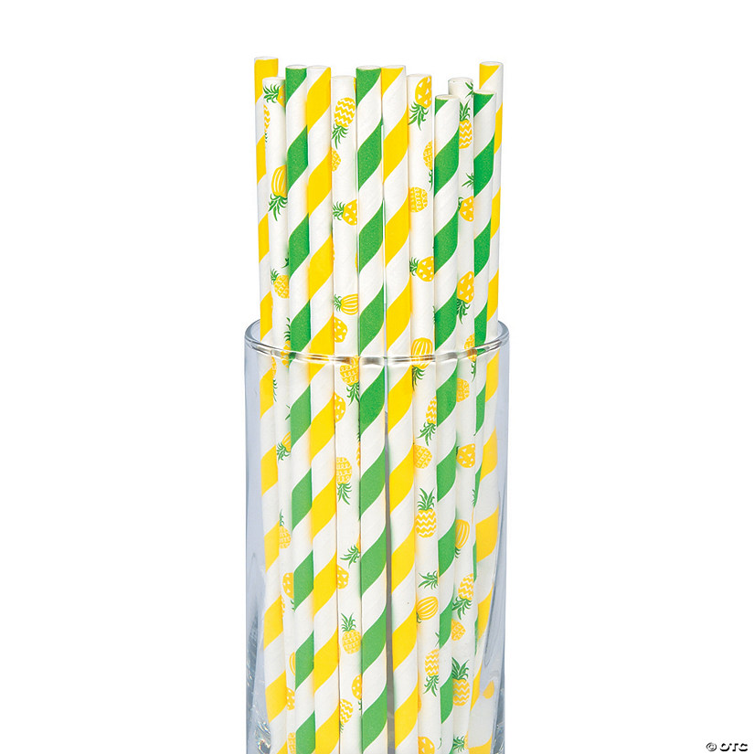 Pineapple Paper Straws Audio Thumbnail