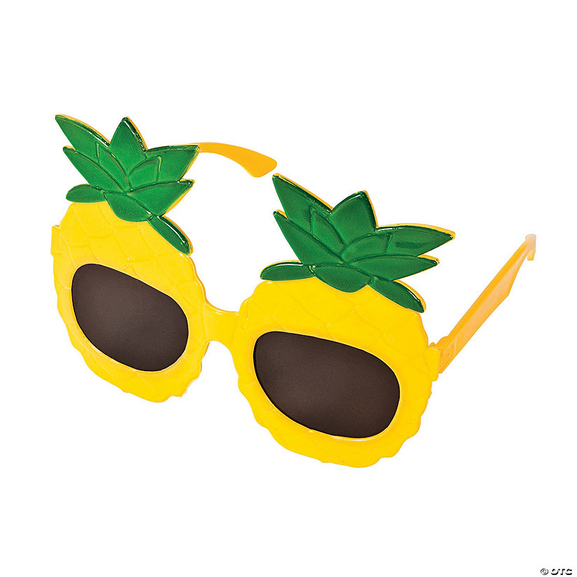 Pineapple Sunglasses - 12 Pc. Image Thumbnail