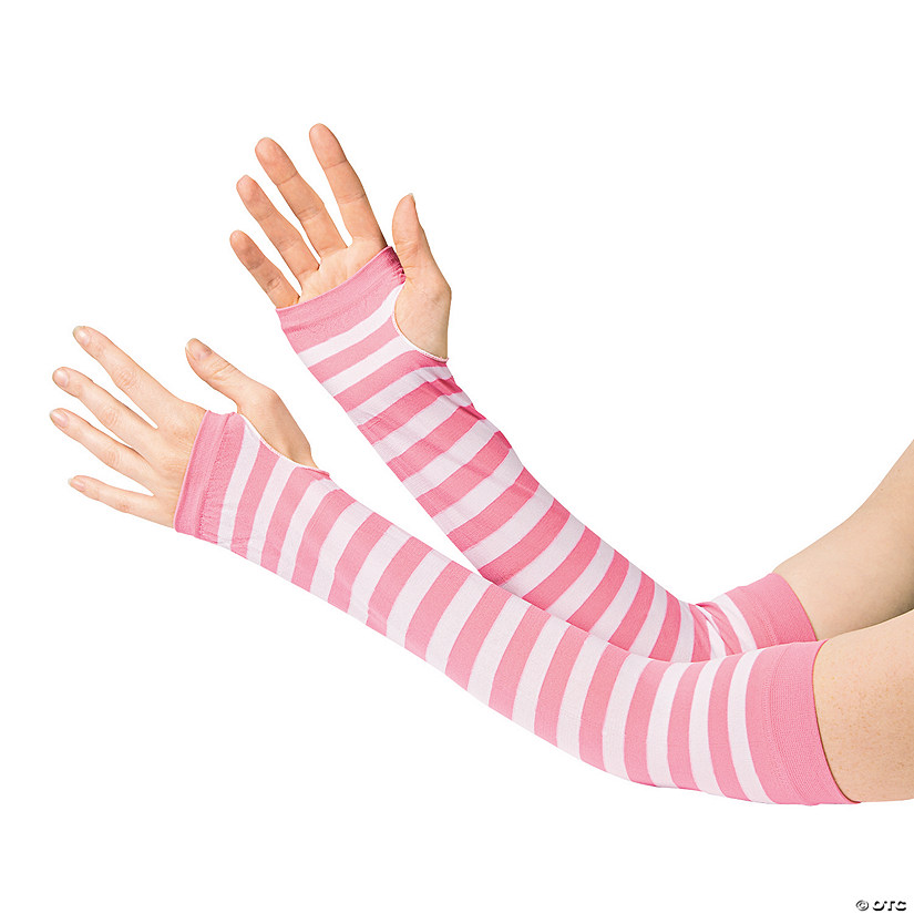 Pink & White Team Spirit Arm Sleeves