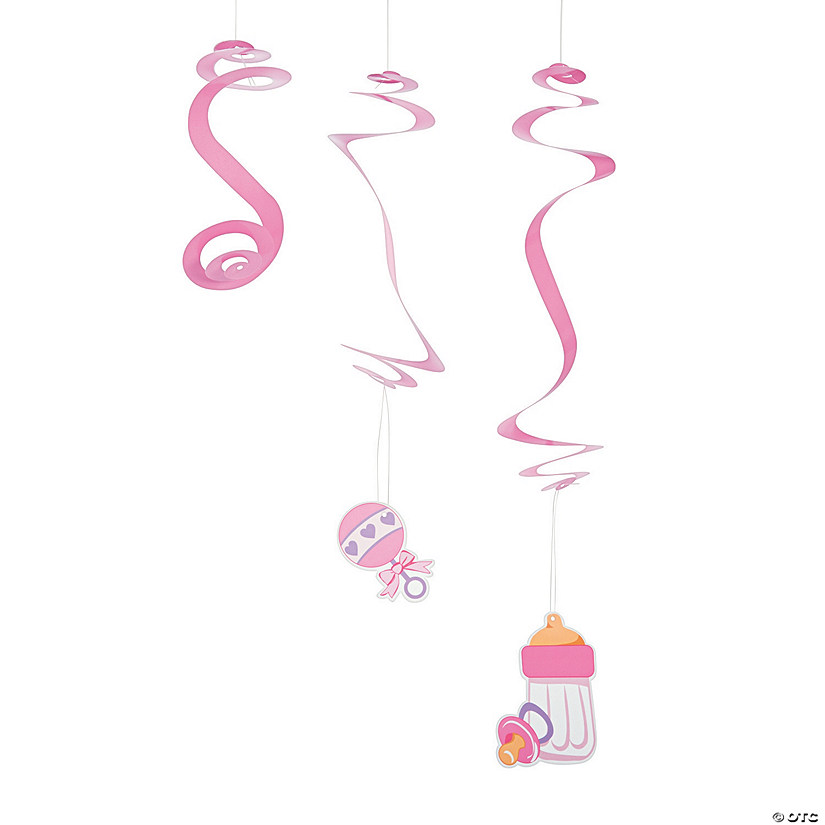 Pink Baby Shower Hanging Swirls Mega Pack Audio Thumbnail