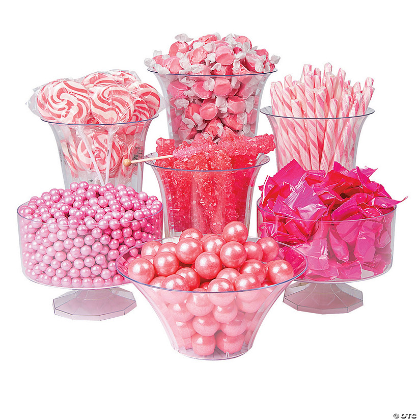 Pink Candy Buffet Assortment Image Thumbnail