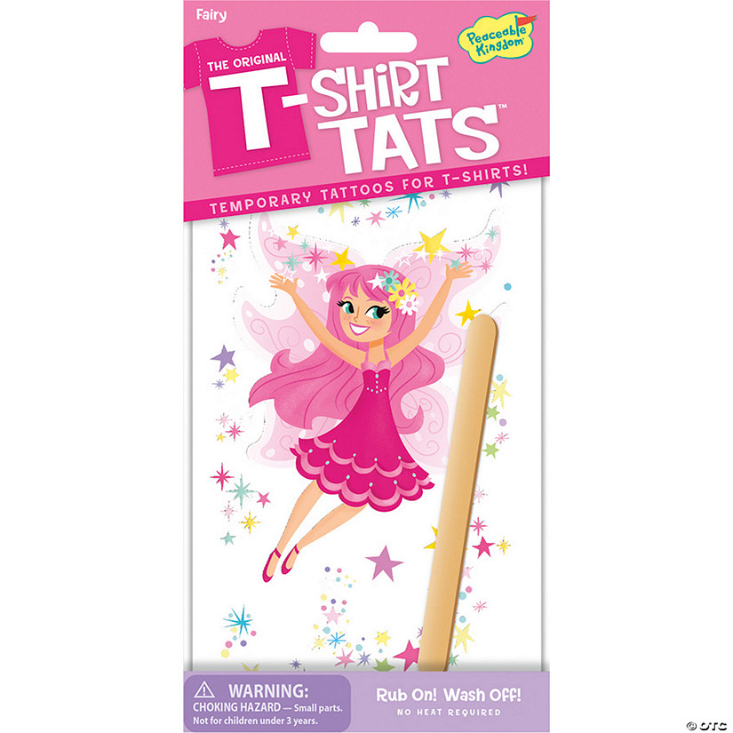 Pink Fairy T-Shirt Tats Pack Audio Thumbnail