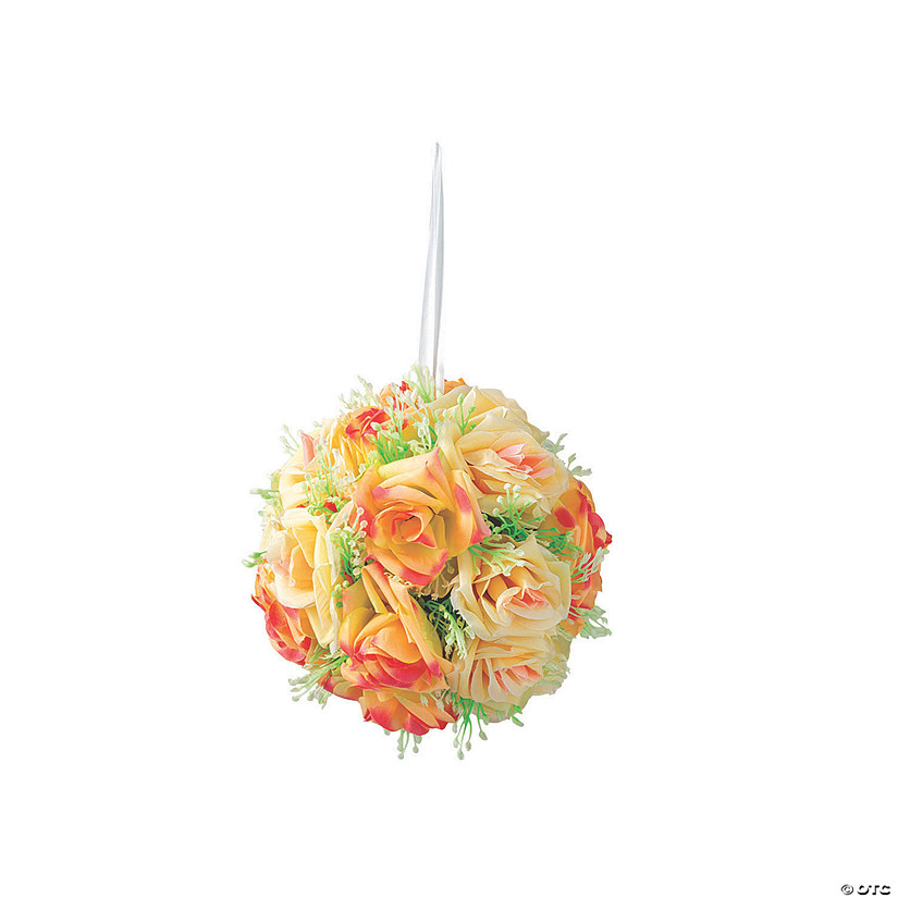 Pink Floral Kissing Ball with Greenery Accents Audio Thumbnail