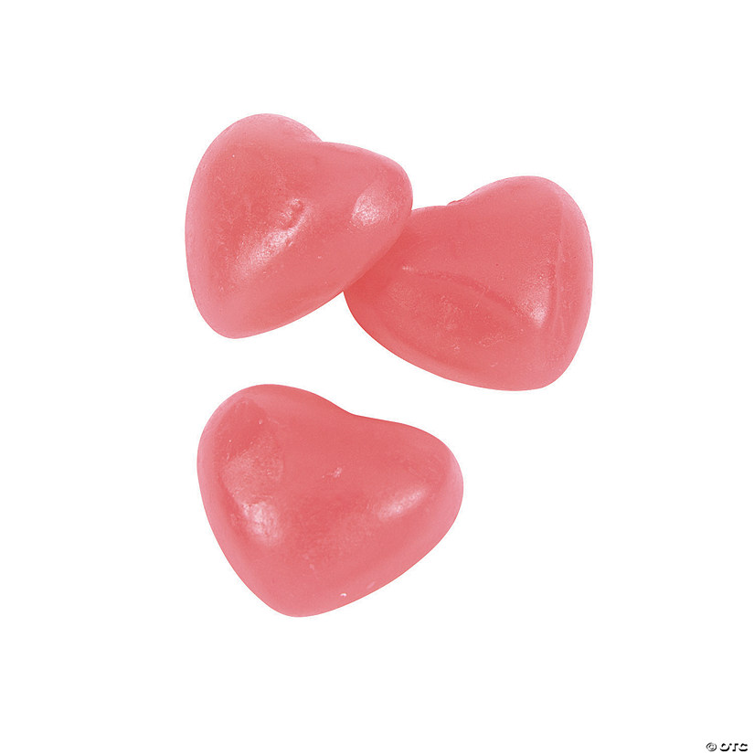 Pink Heart-Shaped Gummy Candy Audio Thumbnail