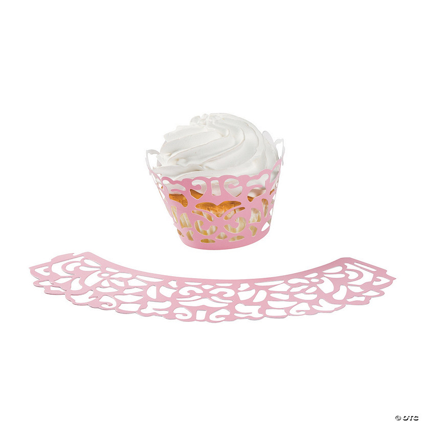Pink Laser-Cut Cupcake Wrappers Audio Thumbnail