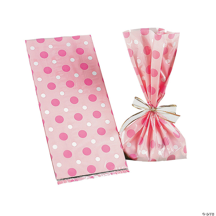 Pink Polka Dot Cellophane Bags Audio Thumbnail