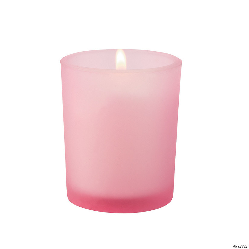 Pink Votive Holders