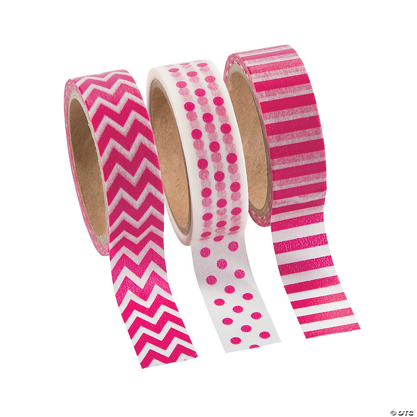 Pink Washi Tape Set Audio Thumbnail