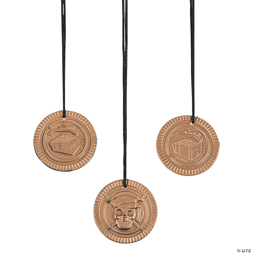 Pirate Coin Necklaces Image Thumbnail