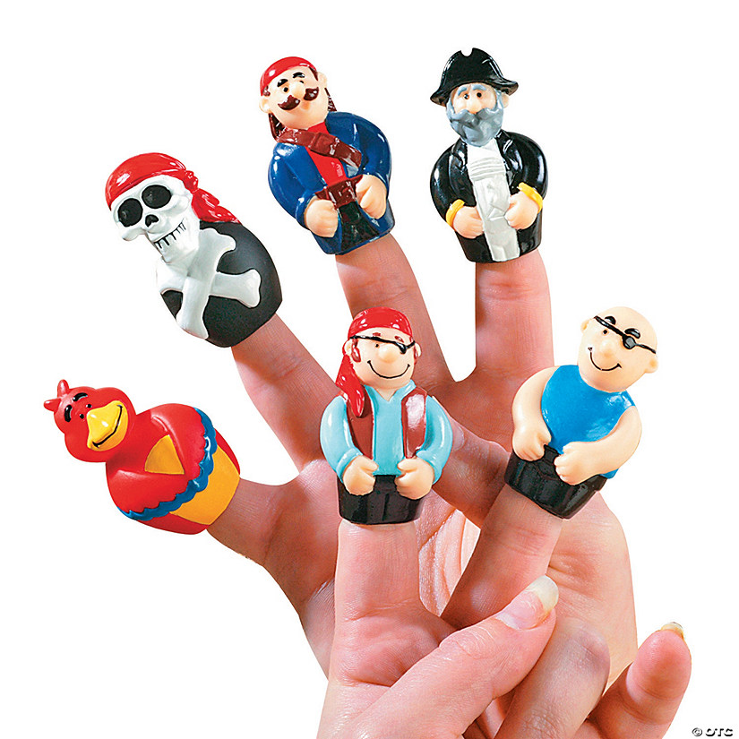 Pirate Finger Puppets Audio Thumbnail