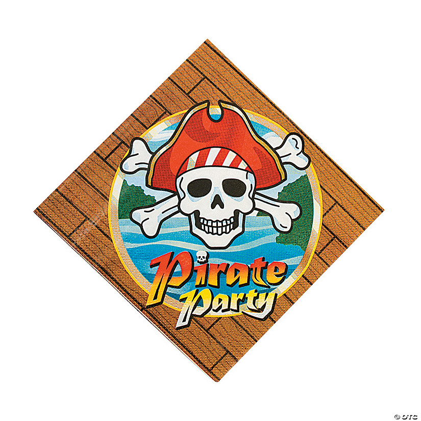 Pirate Party Luncheon Napkins Audio Thumbnail