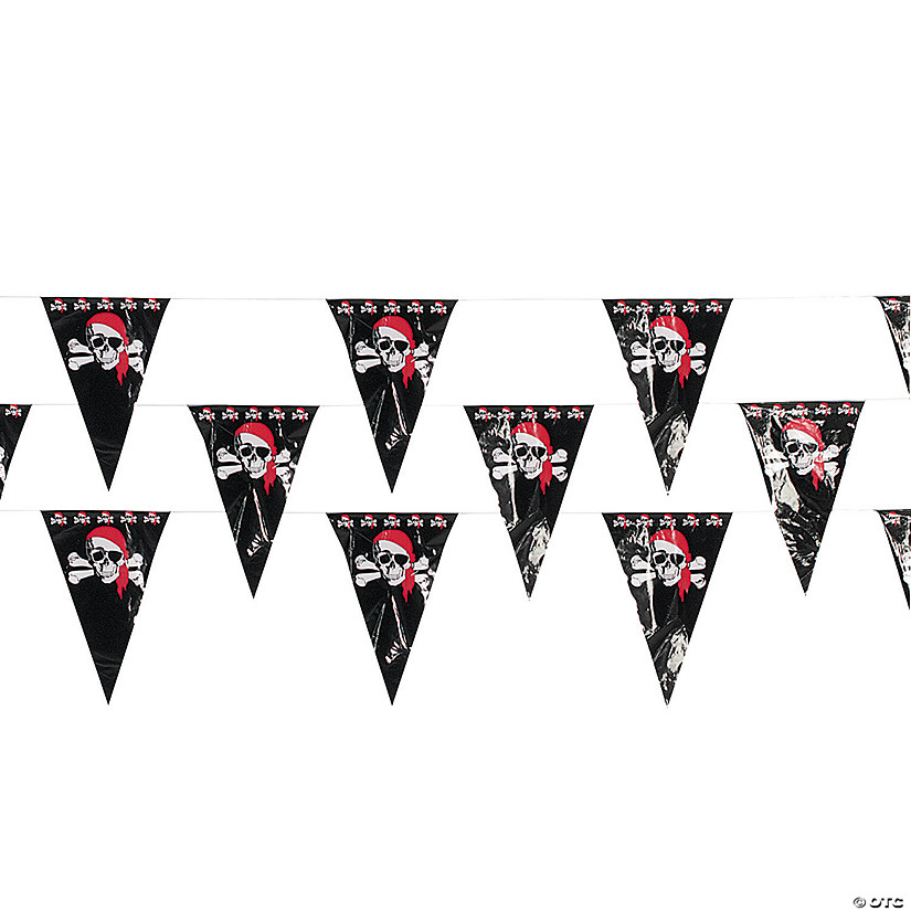 Pirate Plastic Pennant Banner Audio Thumbnail