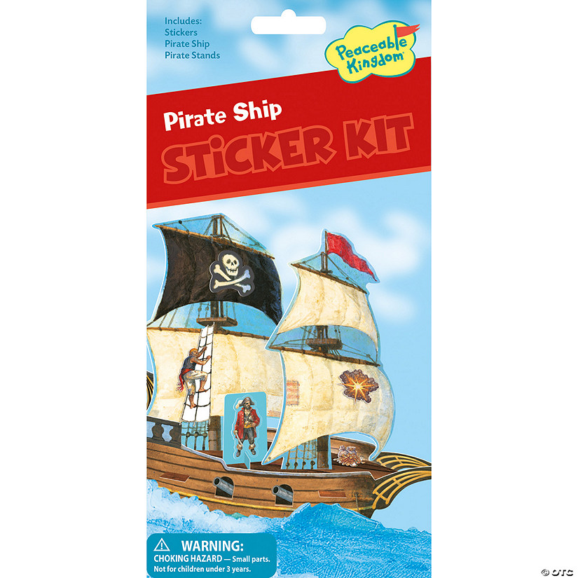 Pirate Danger Sticker Sheet
