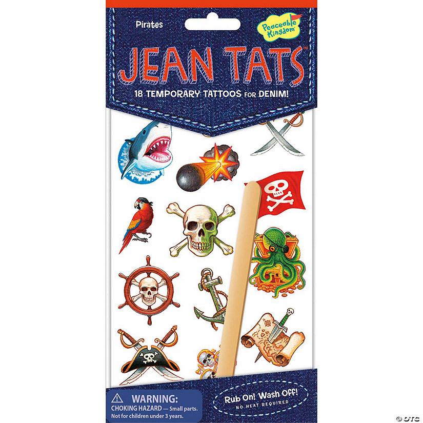 Pirates Jean Tats Pack Audio Thumbnail