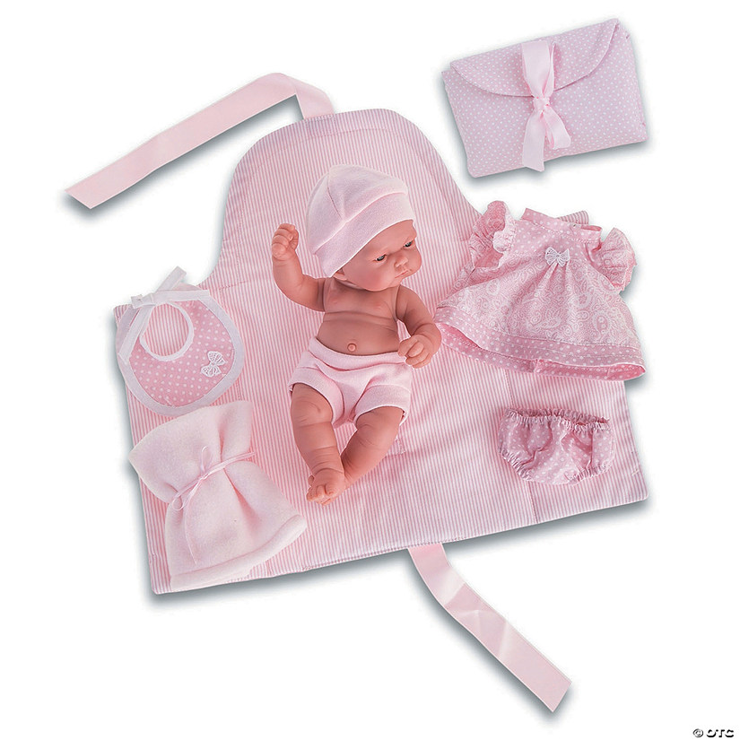 Pitu Baby Girl Doll With Changing Pad Audio Thumbnail