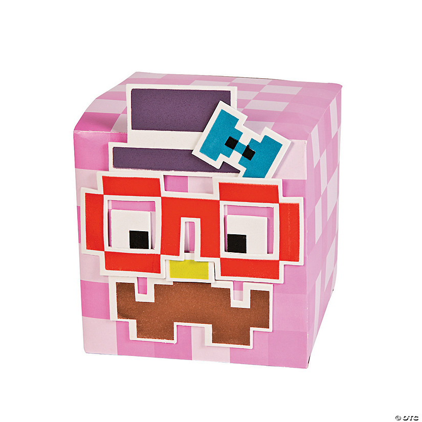 Pixilated Funny Face Box Craft Kit