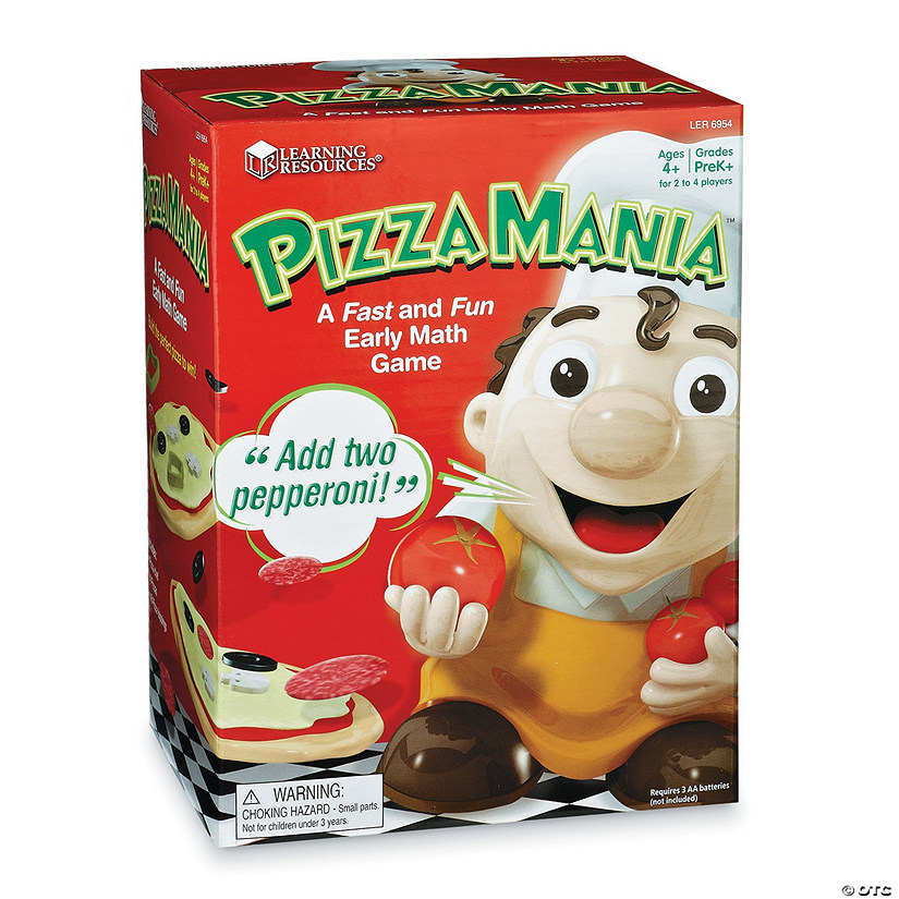 Pizza Mania Early Math Game Image Thumbnail