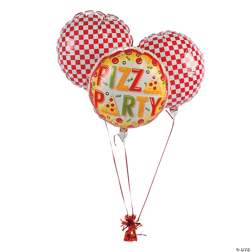 pizza party mylar balloons discontinued