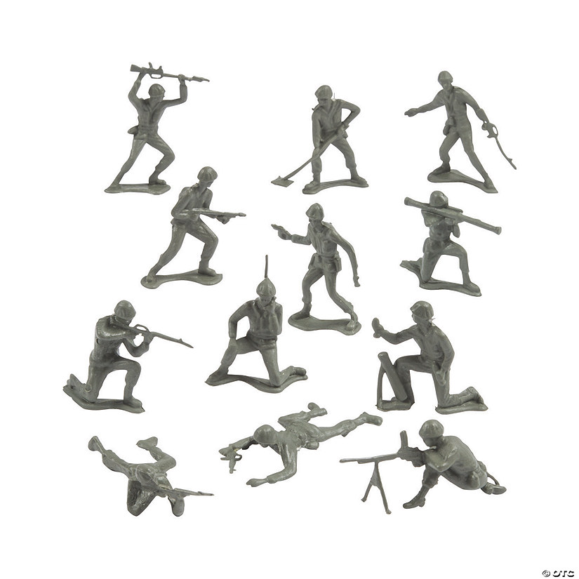 Plastic Army Men Assortment Image Thumbnail