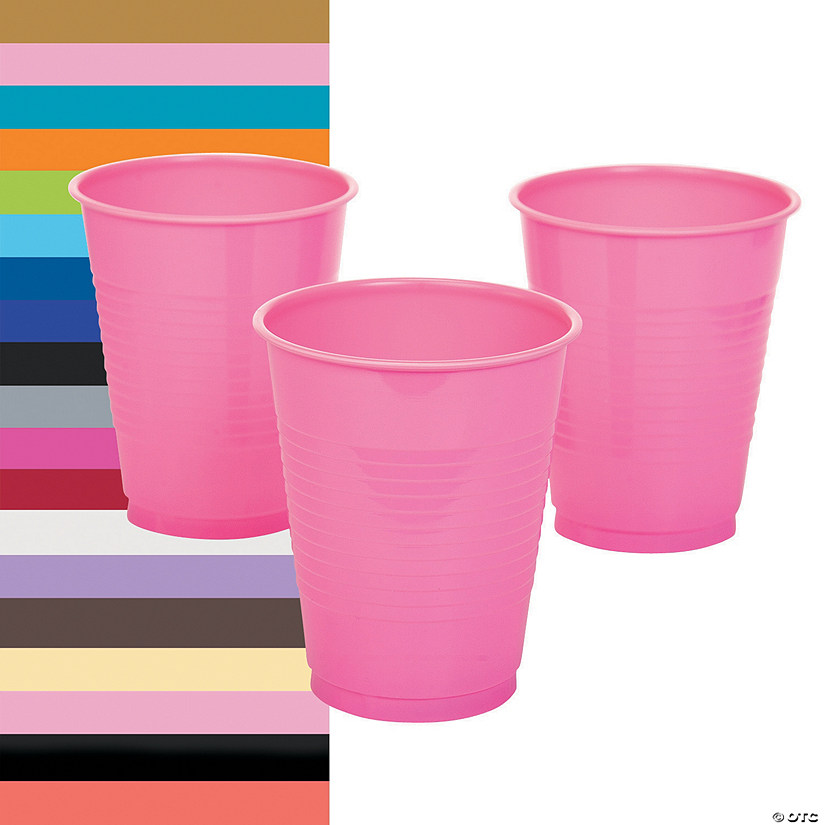Plastic Cups - 20 Ct. Audio Thumbnail