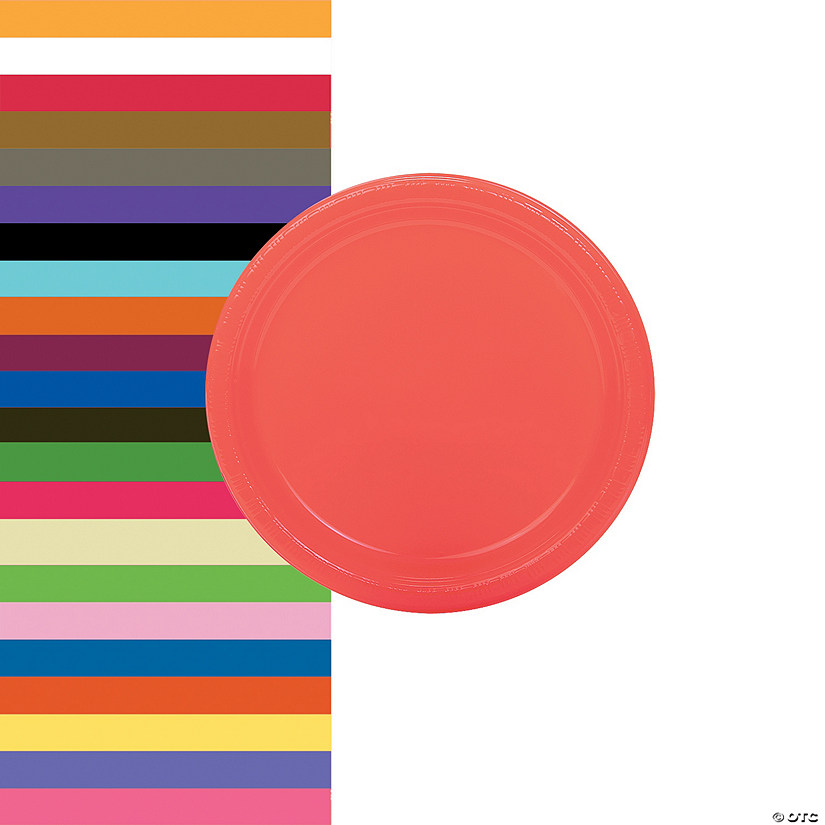 Plastic Dessert Plates - 20 Pc. Audio Thumbnail