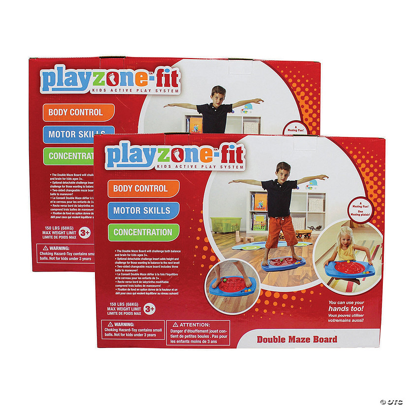 Playzone Double Maze Board Set of 2 Image Thumbnail