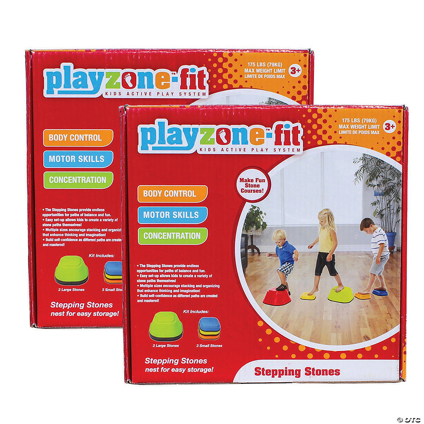 Playzone Stepping Stones Set of 2