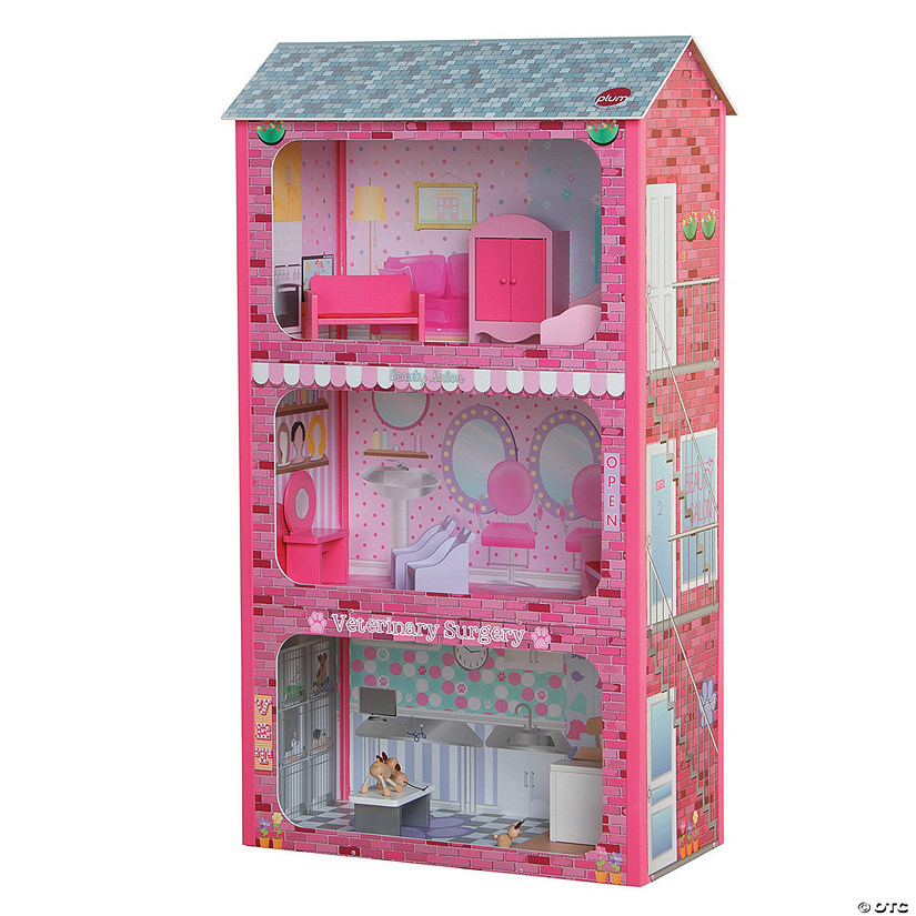 Plaza Wooden Dollhouse Image Thumbnail