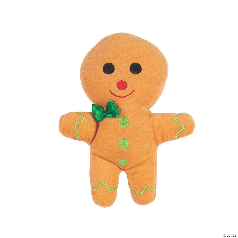 Plush Gingerbread Boy Audio Thumbnail