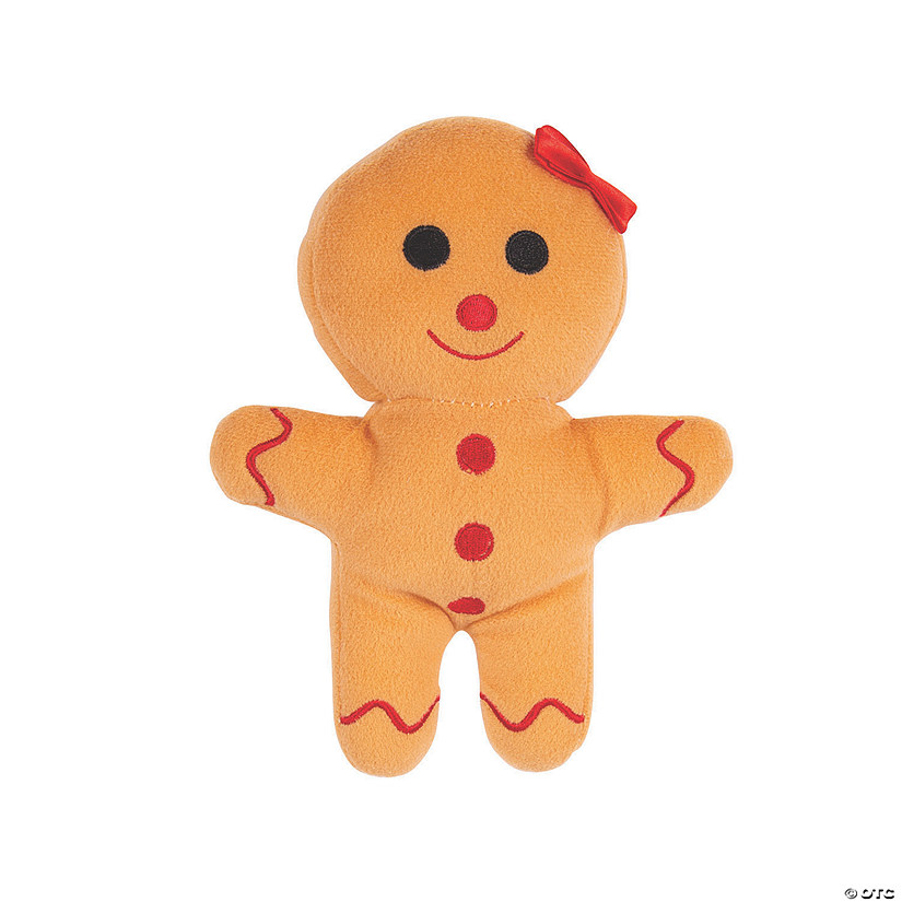 Plush Gingerbread Girl Audio Thumbnail