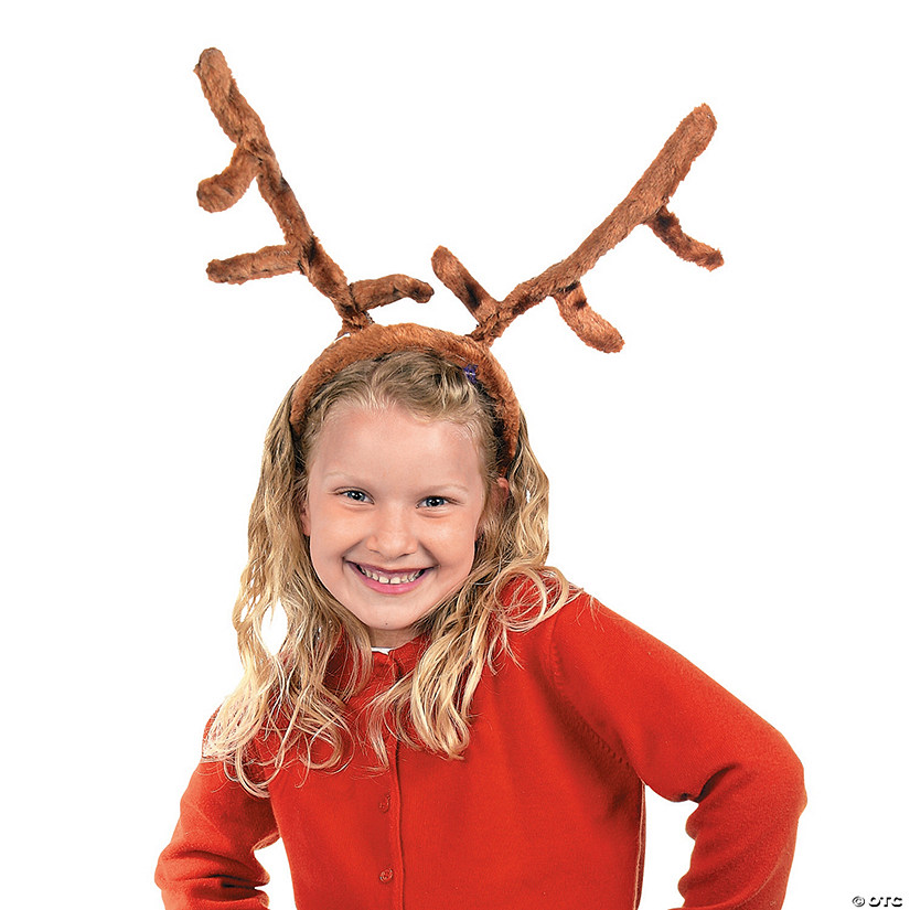 Plush Reindeer Antlers Headbands Audio Thumbnail