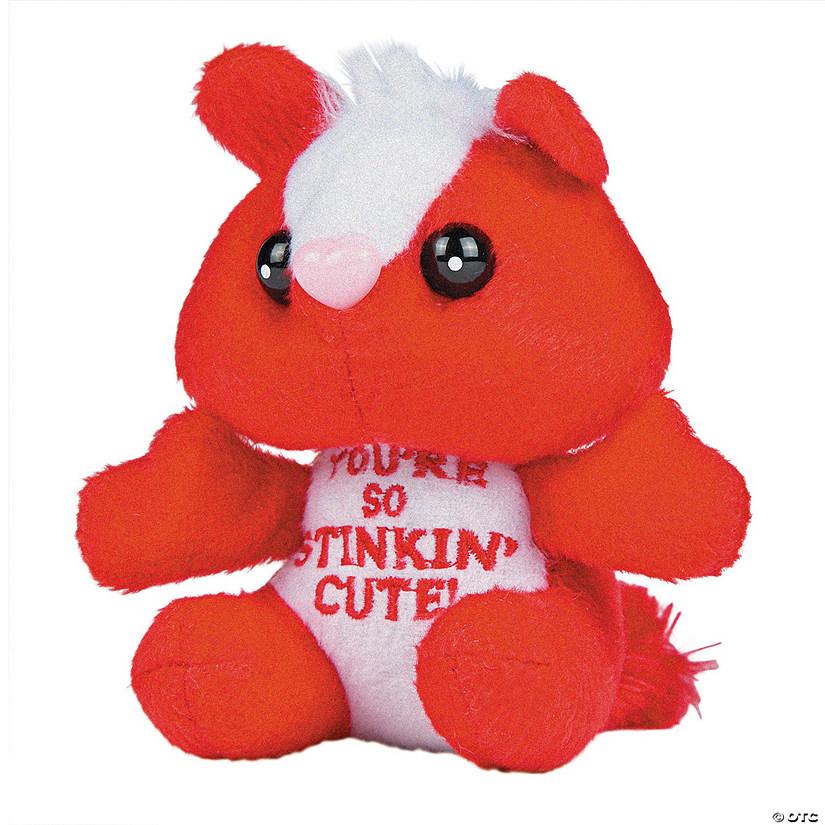 Plush Stinkin Cute Valentine Skunks Discontinued