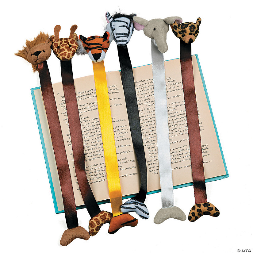 Plush Zoo Animal Bookmarks Audio Thumbnail