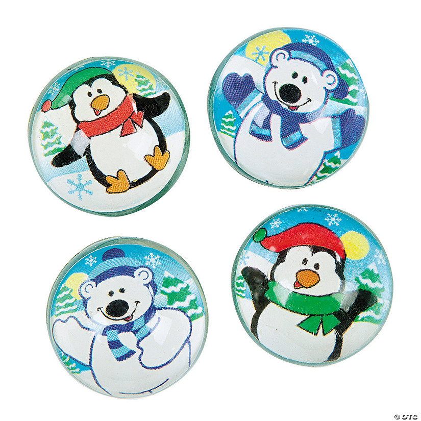 Polar Bear & Penguin Bouncy Balls Audio Thumbnail