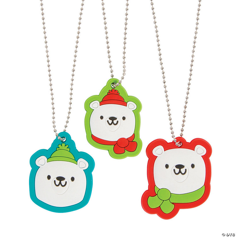 Polar Bear Charm Necklaces
