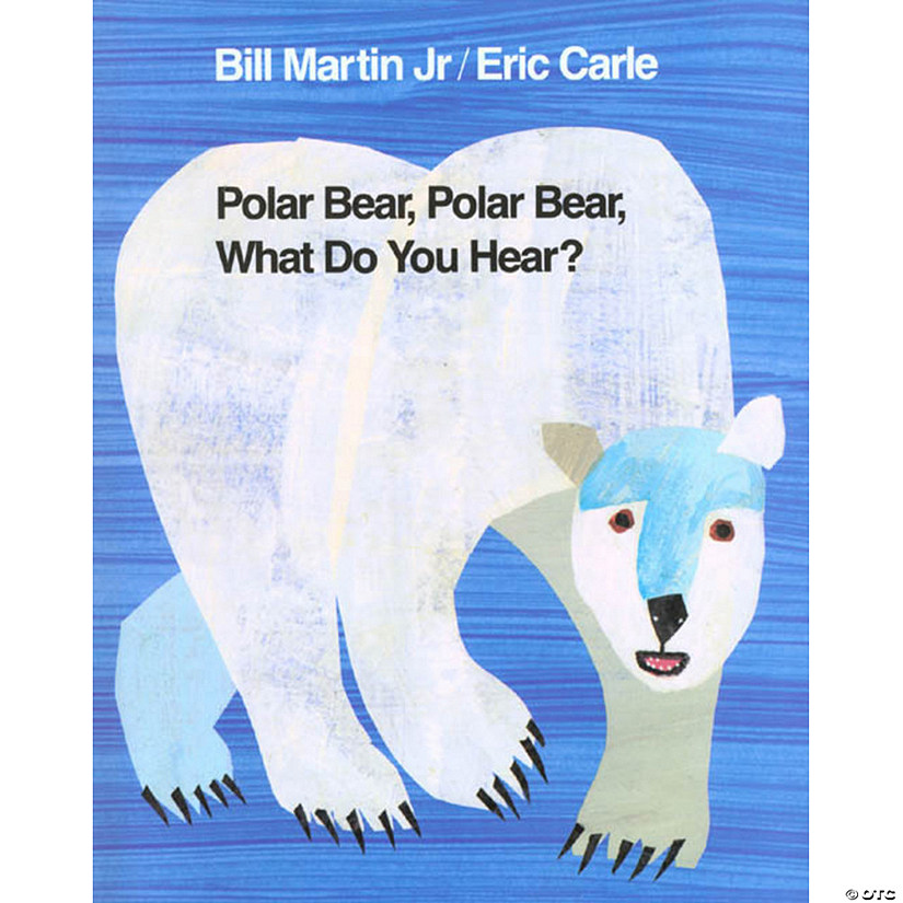 Polar Bear, Polar Bear What Do You Hear? Hardcover Audio Thumbnail