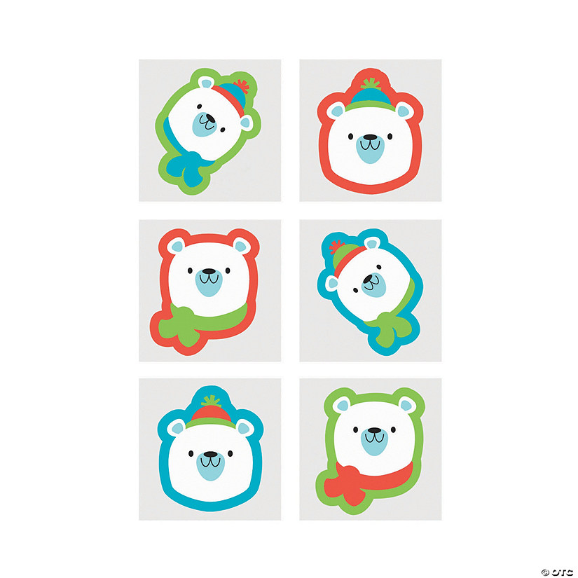 Polar Bear Temporary Tattoos Audio Thumbnail