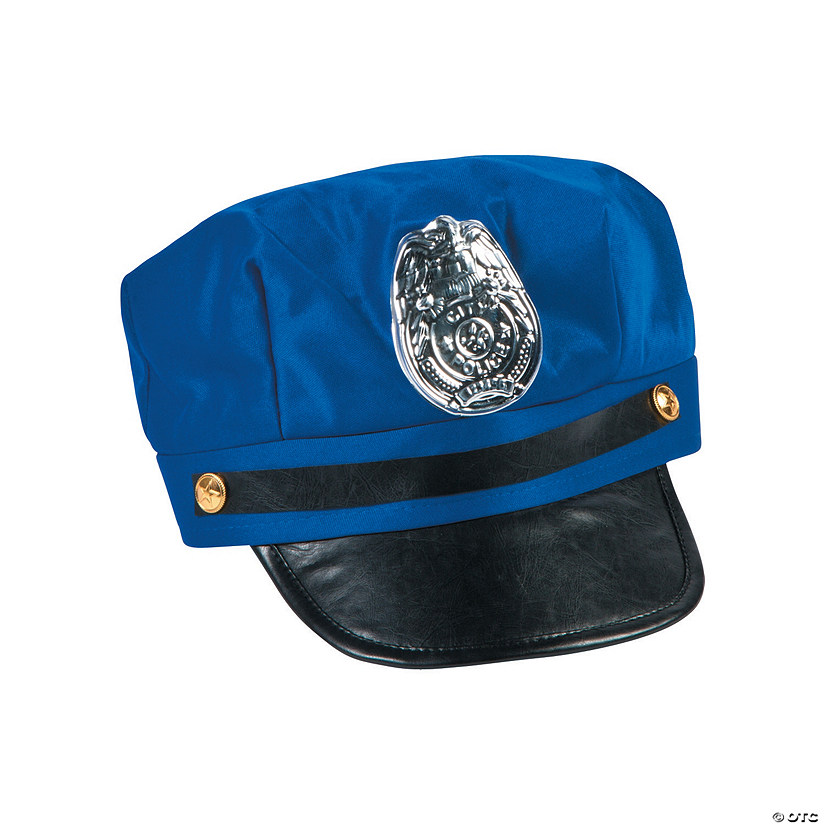 Police Hat with Badge Audio Thumbnail