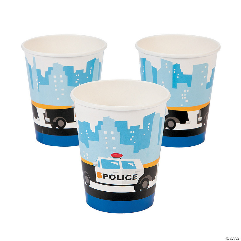 Police Paper Cups Audio Thumbnail