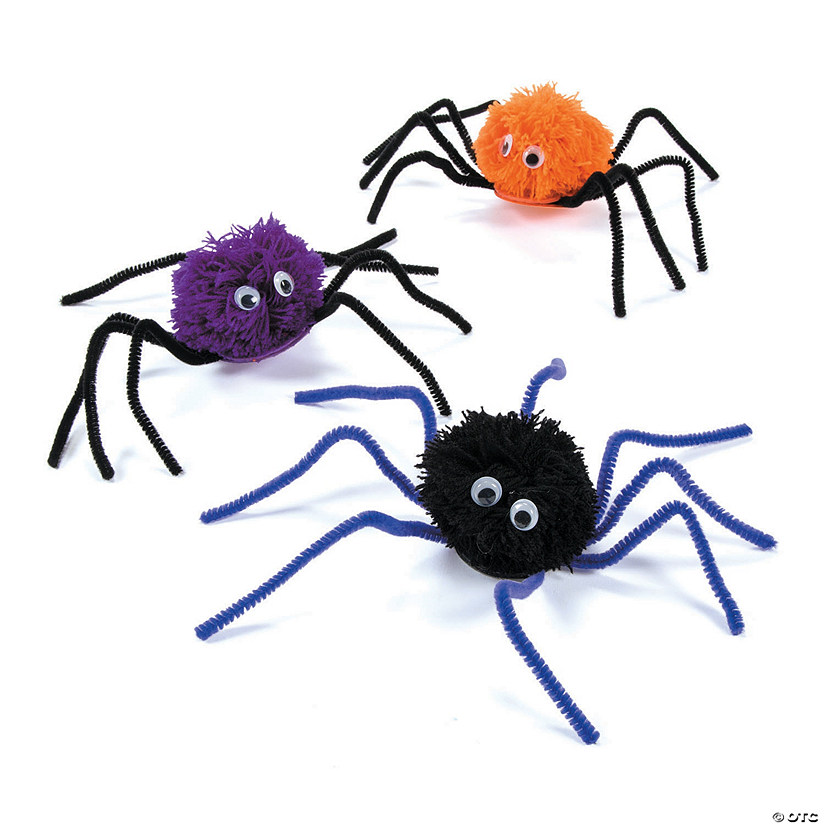 Pom-Pom Halloween Spider Craft Kit Audio Thumbnail