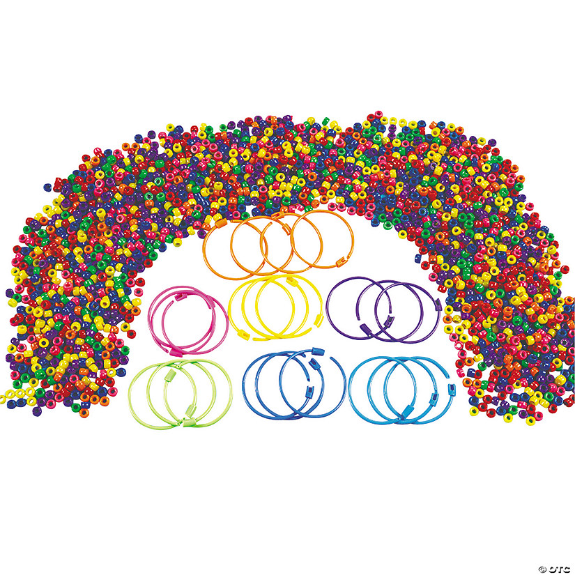 Pony Bead Bracelet Kit Image Thumbnail