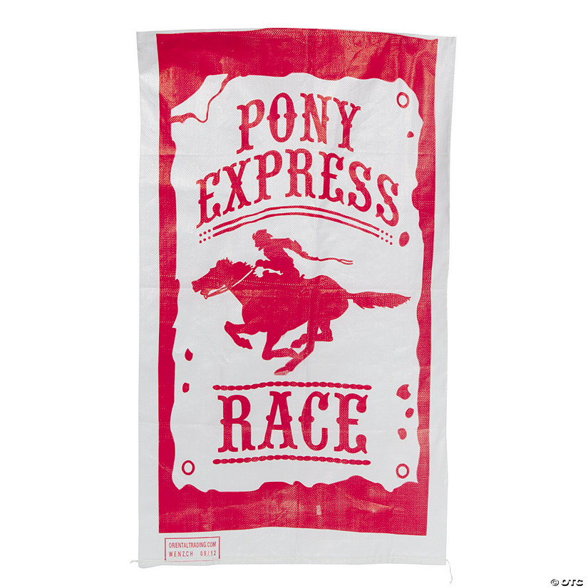 Pony Express Race Potato Sacks Image Thumbnail