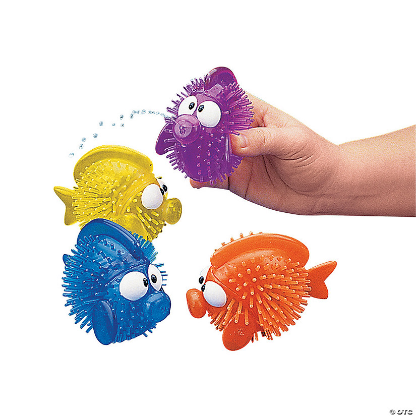 Porcupine Fish Squirt Toys Audio Thumbnail